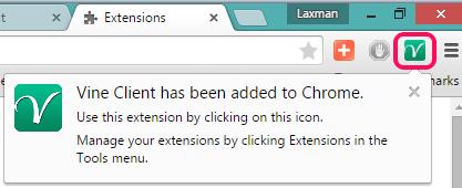 VineClient icon