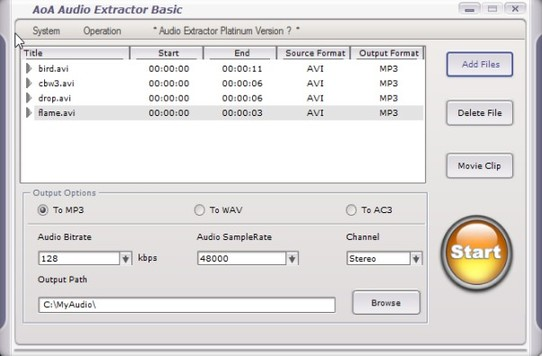 audio extractor software windows 10 3