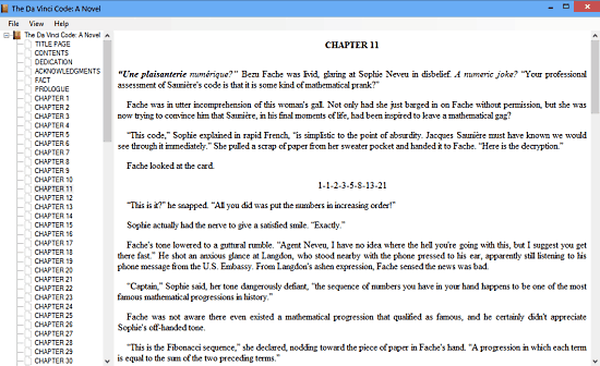 epub file reader