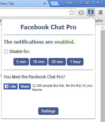facebook chat extensions chrome 1