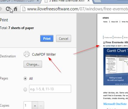 pdf printer software windows 10 1