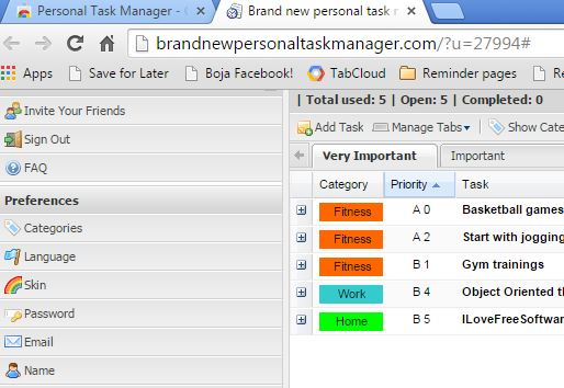 personal organizer extensions chrome 1