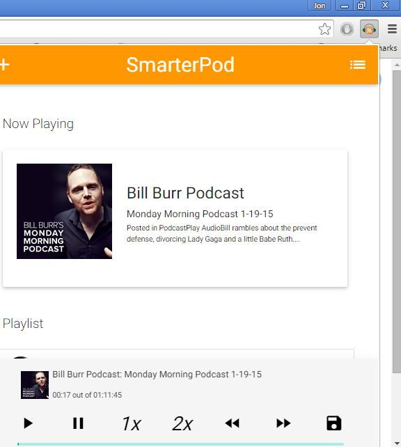 podcast player extensions chrome 1