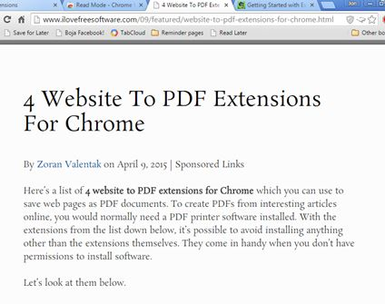 readability improvement extensions chrome 4