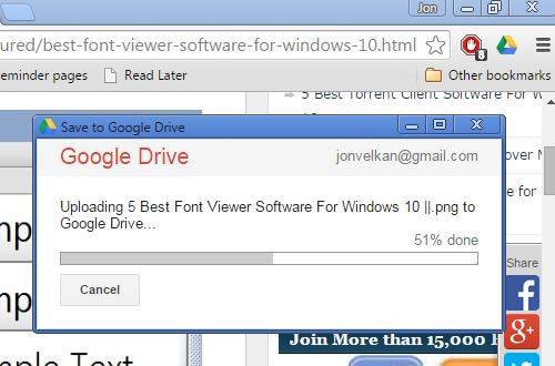 save to google drive extensions chrome 1
