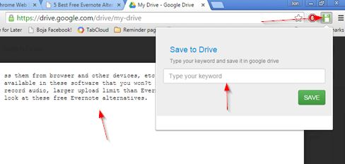 save to google drive extensions chrome 5