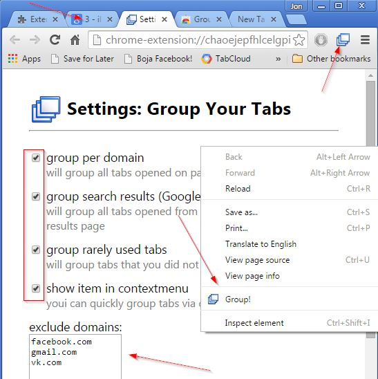 tab grouping extensions chrome 4