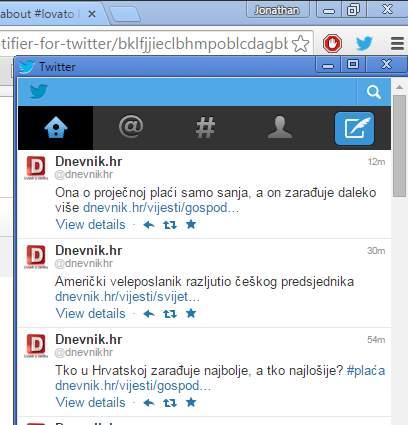 twitter notifier extensions chrome 2
