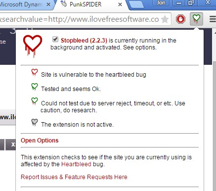 vulnerability checker extensions chrome 4