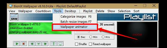 wallpaper animator launch