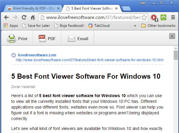 website to pdf extensions chrome 2