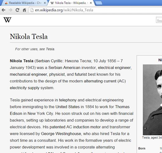 wikipedia beautifier extensions chrome 1