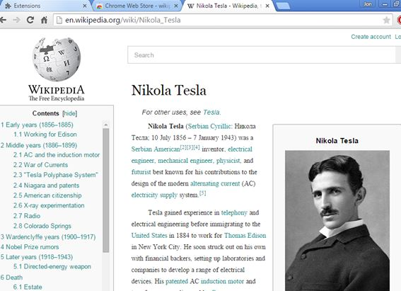 wikipedia beautifier extensions chrome 5