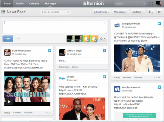 Alternion- interface