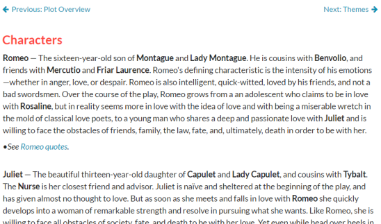Free Interactive Online Literature Guide: LitCharts