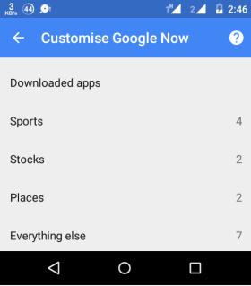 Choose Downloaded Apps