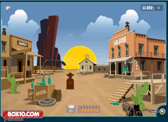 Cowboy School Game