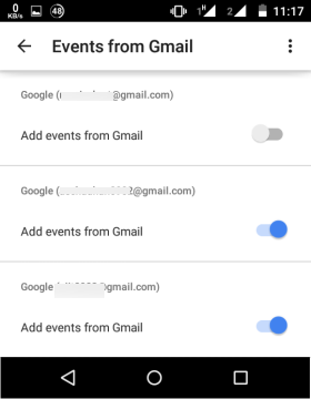 Disable Add Events from Gmail