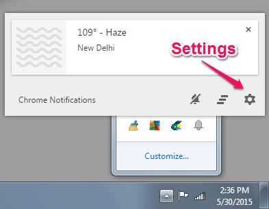 Googler Now Notifications