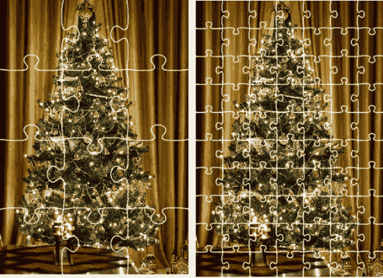 Holiday Jigsaw Christmas Number Of Pieces Changed