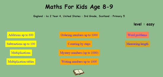 Math Exercises for Kids