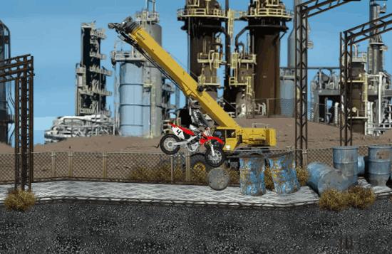 New Industrial Site Stunts