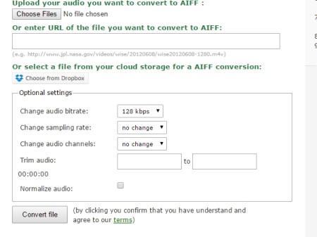 online audio compressor