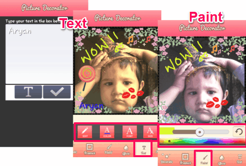 Picture Decorator HD-text & paint