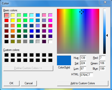 Pixie Color Picker