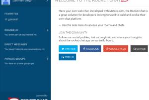 Rocket.Chat- free web chat service