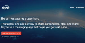 Skynet- for peer to peer file sharing and chatting
