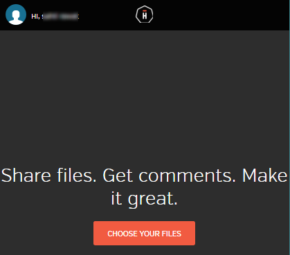 add files to upload and share with others