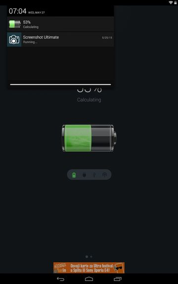 battery percentage apps android 4