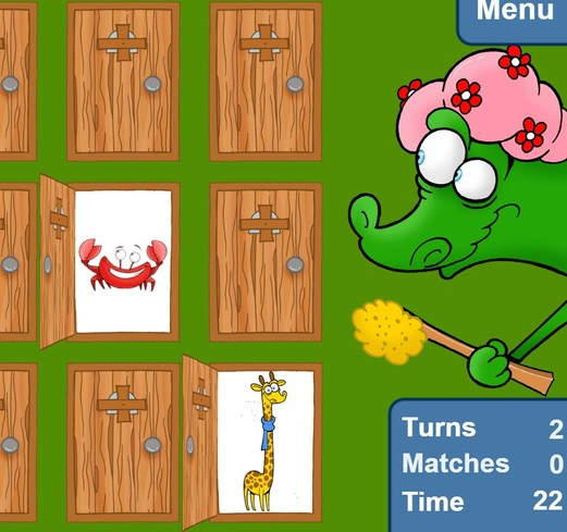free memory games chrome 4