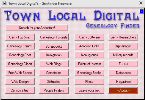 genealogy software windows 10 1