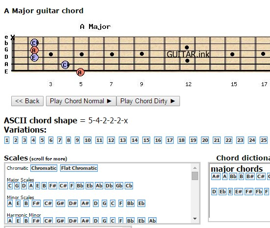 guitar chord extensions chrome 2