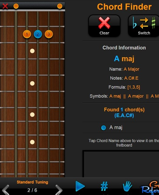 guitar chord extensions chrome 3
