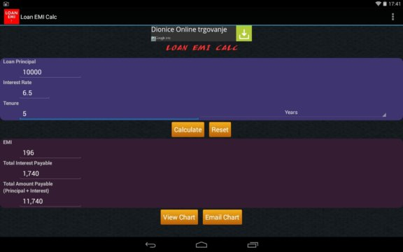 loan calculator apps android 2