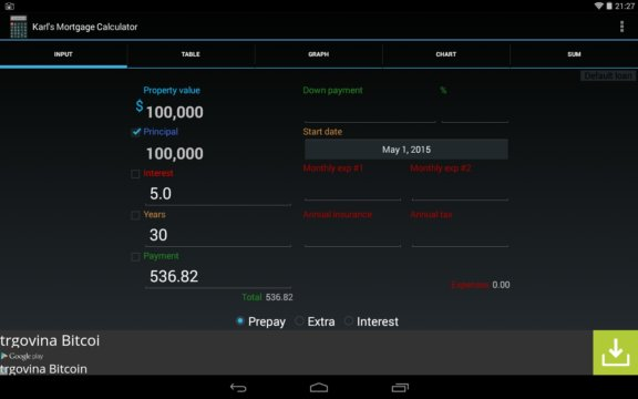 loan calculator apps android 5
