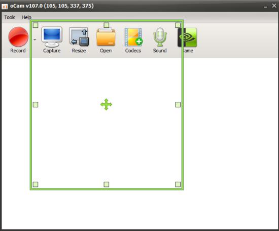 oCam- interface
