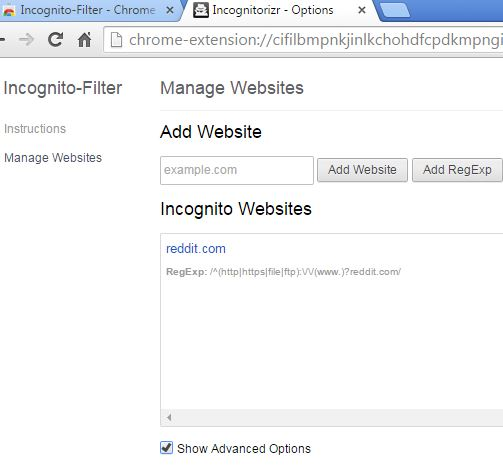 open in incognito extensions chrome 1