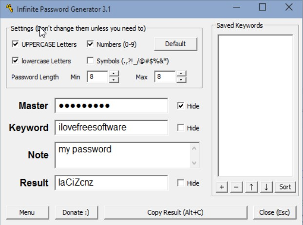 password generator software windows 10 3