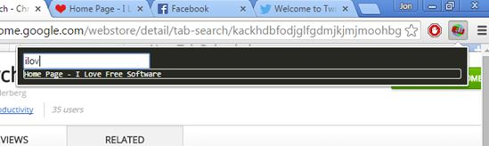 tab search extensions chrome 4