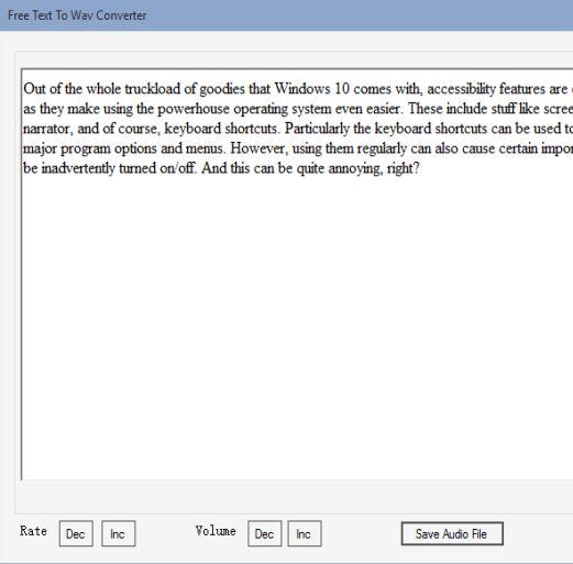 text to speech software windows 10 5