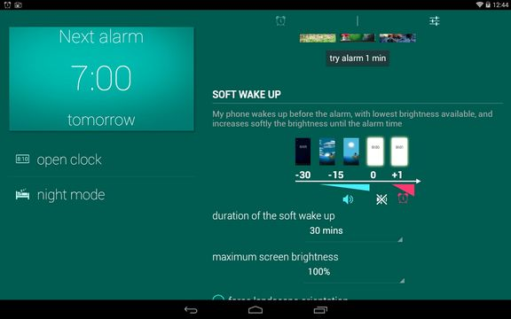 wake up light alarm apps android 2