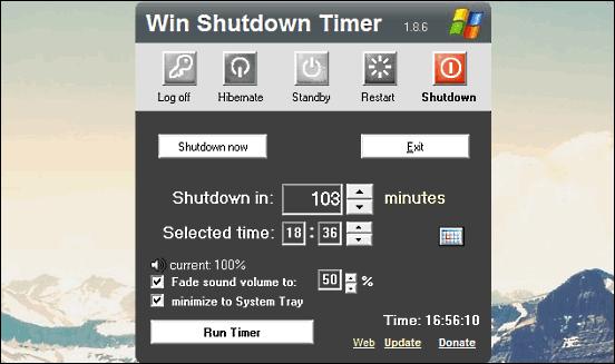 win shutdown timer