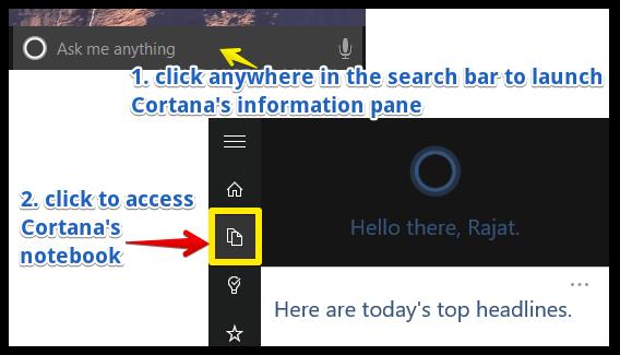 windows 10 launch cortana info pane (1)