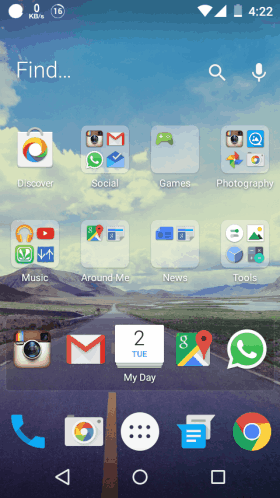 EverythingMe Launcher