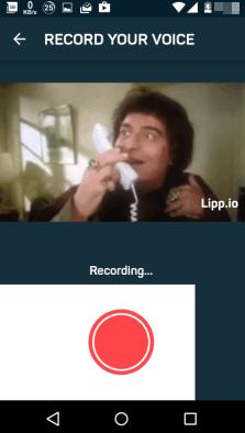 Lipp Andoid app- opposite of Dubsmash