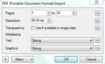 Open PDF in Paint.NET